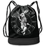 ESS Eyewear White Rabbit Pocket Watch Basic Large-Capacity Multifunctional Backpack