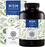 NATURE LOVE® MSM – 365 capsule per crescita dei capelli