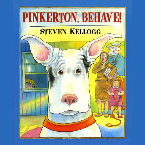 Pinkerton, Behave! audiobook cover art