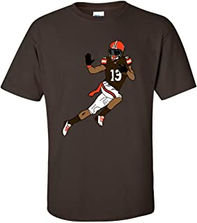 Odell Beckham Jr Tribute, Cleveland, Football, Graphic Tee Browns s Graphic Tee