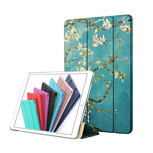 DuraSafe Cases Tri Fold Cover for iPad 4/iPad 3/iPad 2 -9.7 Inch A1458 A1459 A1460 A1403 A1416 A1430 A1395 A1396 A1397 (Blossom)