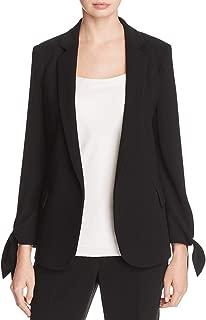 Lafayette 148 New York Womens Bria Crepe Tailored Jacket
