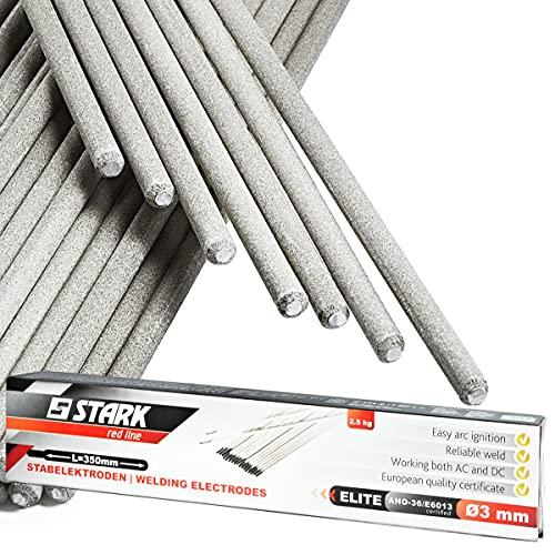 STARK Electrodos Rutilo para Soldadura 2,5 Kg - 88 piezas