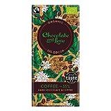 Chocolate and Love, Dunkle Schokolade Kaffee, BIO & Fairtrade, 55%, [2 x 80g.]