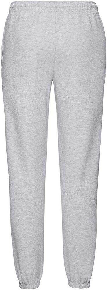 Fruit of the Loom Mens Elasticated Cuff Jog Pants//Jogging Bottoms