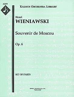 Souvenir de Moscou, Op.6: Set of Parts [A2275]