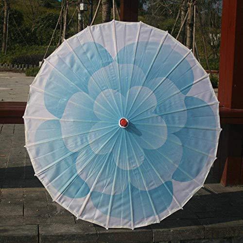 Regenschirm Stockschirme Dekorative Wohnaccessoires Hochzeitsdeko Dance Umbrella Craft Umbrella Leistung Silk Klassische Umbrella Dance Umbrella Stützen Decken-Dekoration