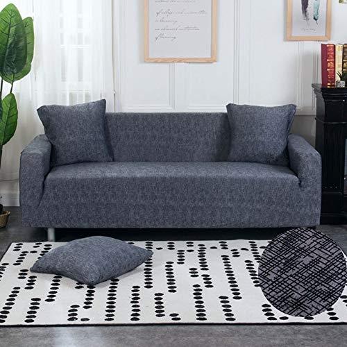 PCSACDF Housse de canapé en Spandex avec revêtement antidérapant pour Salon de Jardin Loveseat Patio Furniture 3 Places 190-230 cm Couleur 14