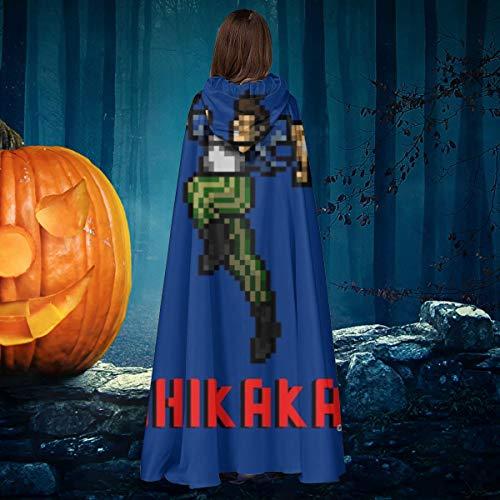 AISFGBJ Ace Ventura Shikaka - Capa con Capucha para Disfraz de Bruja de Halloween, Unisex