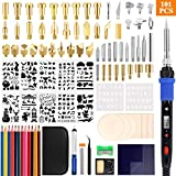Best Wood Burning Kits - 101Pcs Wood Burning Kit LCD Display Digital Soldering Review