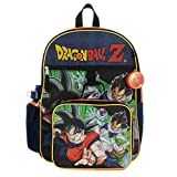 Kids Dragon Ball Z Backpack Set 5-Piece School Supplies Combo