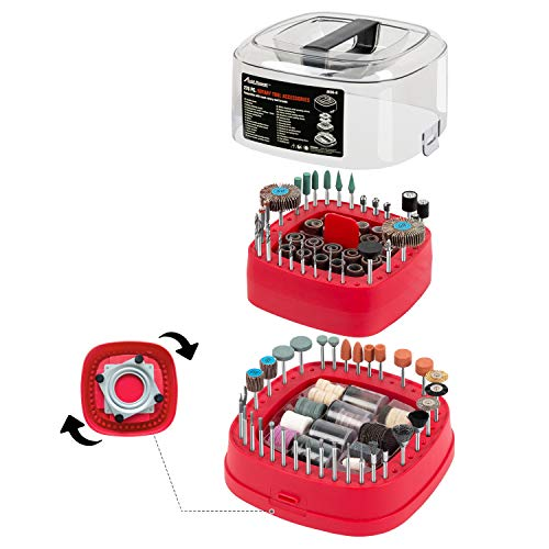 Check Out This Avid Power Rotary Tool Accessories Kit 276 Pieces, 1/8-inch Diameter Shanks Universal...
