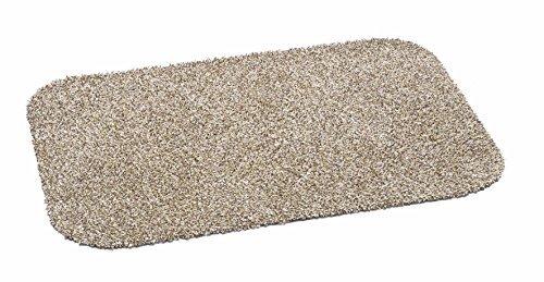 orientbazar24 ZERBINO Home Cottob Eco Beige 75x 50cm 80% Cotone 20% Microfibra Lavabile a 30Gradi