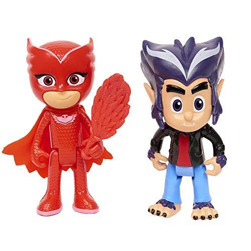 PJ Masks Hero & Villain 2pk - Owlette & Howler