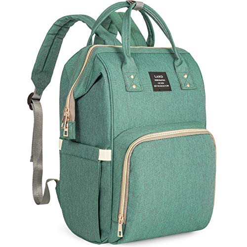 STYLISH DESIGN YET PRACTICAL! Our Backpack Diaper bag adopts wide open design for make you easily get baby essentials, the L-shape opening in the back that allows easy access & thick padded shoulder straps offer you a comfortable carryiny. This chic ...