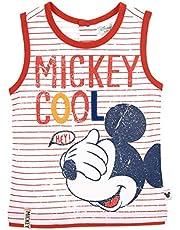 Mickey Mouse bebé-niños Camiseta Sin Mangas