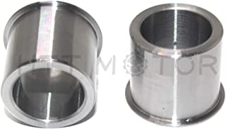 HTTMT HAD022- Wheel Bearing Reducers 1 inch to 3/4 Inches Axle Reducer Spacer Compatible with Harley Wheel Bearings