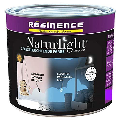 Resinence 0,125 Liter Naturlight selbstleuchtender Lack weiss matt patentiert