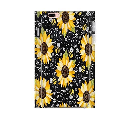 Impresión Fresh Sunflower para Chicos Carcasa De Plástico A Prueba De Choques Compatible con Apple iPhone 7 8 4.7 Inch