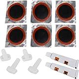 GearUp 14 bis 42 Teile Reparatur-Set Material Flicken für Gewebematratzen Luftbetten aufblasbare Campingmatten Sitzkissen Farbe 1 Set