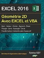Geometrie 2D avec EXCEL 2016 et VBA