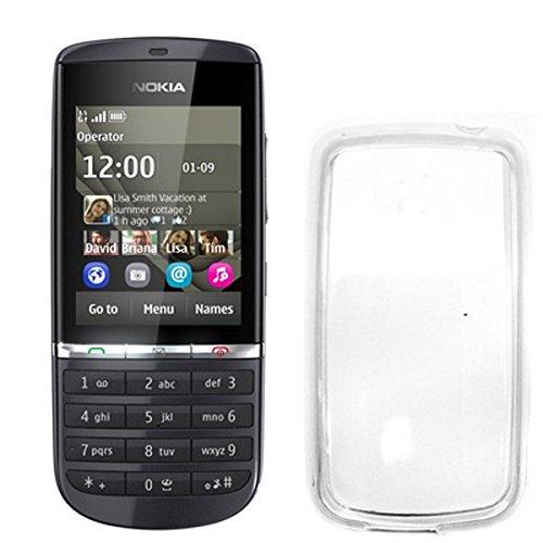 Celly Cover in TPU per Nokia Asha 300, Trasparente