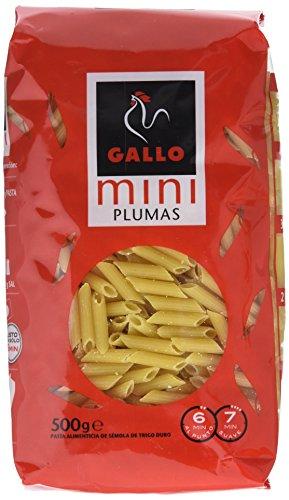 Gallo - Pasta mini plumas - 450 grs