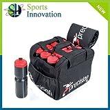 Precision - Bolsa para botellines de agua de ciclismo (capacidad para 16 botellines de 750...