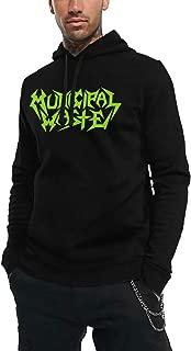Men's Municipal Waste Logo Adult Cool Pullover Hooded Sweatshirt Black