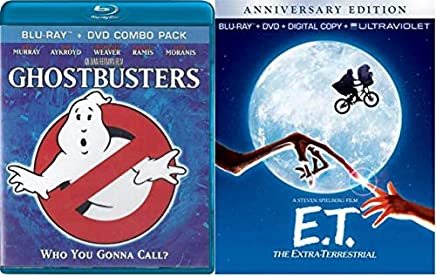 Ghostbusters & E.T. The Extra-Terrestrial Anniversary Edition (Blu-ray + DVD + Ultraviolet Digital HD)
