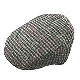 Pesci Kids Gorras Planas Mezcla de Lana Tweed Sombreros Boinas para Niños, Gris 2-4 años 52cm