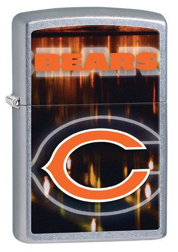 Personalized Zippo Lighter NFL Chicago Bears - Free Laser Engraving