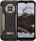 Smartphone Robusto DOOGEE S96 Pro 8GB + 128GB Teléfonos Desbloqueados con Cámara Infrarroja de Visión Nocturna, Helio G90, 6350mAh 4G Dual SIM IP68 a Prueba de Agua, 6.22'Android 10 GPS/NFC-Negro