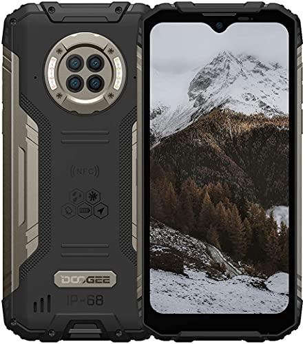 "Outdoor Handy mit Nachtsicht, DOOGEE S96 Pro, 8GB + 128GB Helio G90, 48MP + 20MP Kamera, 6.22\"" UHD + 6350mAh + 4G Dual SIM Wasserdicht NFC GPS, Robustes Android Smartphone Ohne Vertrag(Black)"