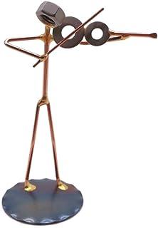 Violin Collectible Handmade Metal Art Figurine, Desk Accessories, Trophy, Boss Gift, Office Décor, Business Professional, ...