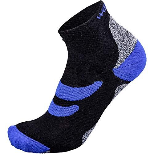 Wapiti Socken RS09, schwarz-Blau, 42-44