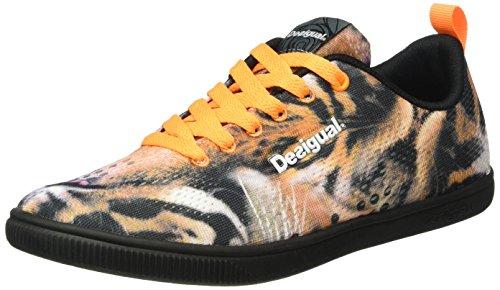 Desigual Shoes_CANDEM W, Scarpe Sportive Indoor Donna, Nero (NEGRO2000), 38 EU