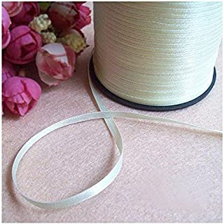 """Unotrim 3//8/"""" Rosettes Rose Flower on 1//8/"""" Ribbon Garland by Yardage 2 Colors"""