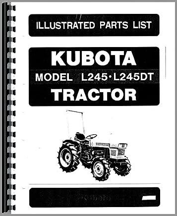 Kubota Tractor Parts Manual (KU-P-L345+): Kubota Manuals