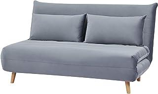 Meubletmoi - Sofá cama convertible de 2 plazas, tejido