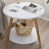 YWXCJ Tavolini da caffè Mesa pequeña Mesa Simple Mesa de Noche Mesa de café...