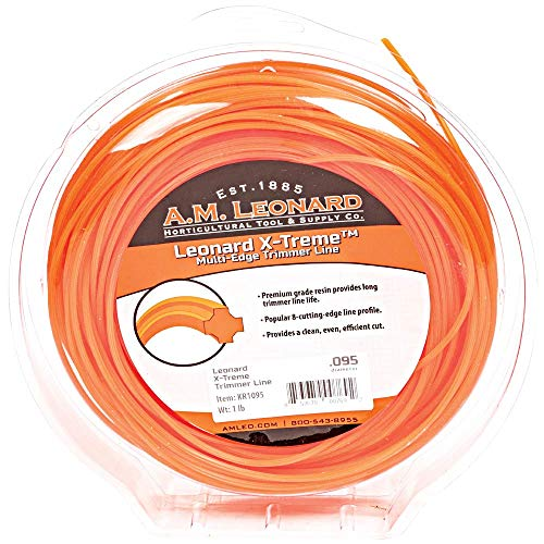 Check Out This A.M. Leonard X-Treme Trimmer Line.095-Inch Diameter, 1-Pound Donut