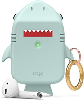 Elago Shark Case for Apple Airpods - Baby Mint