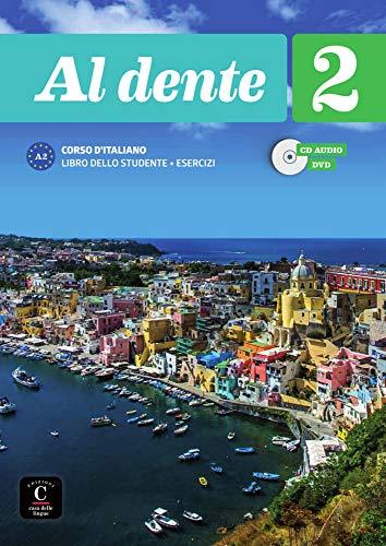 Al dente 2 (A2): Internationale Ausgabe. Libro dello studente + esercizi + CD + DVD