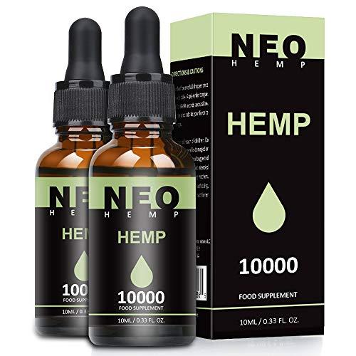 (2 Pack) Höchste Qualität Öl, Natürliches Öl Tropfen 90 Prozent-10ML