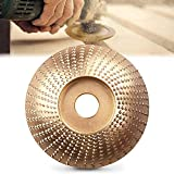 Muela Abrasivos, Discos para Amoladoras Angulares de Carburo de Tungsteno 100mm/85mm,Lijado Rápido y Robusto de Madera (Biselado Plata 100 mm)