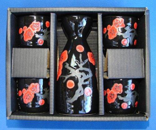Japanese Sake Set - Sake Bottle and Cups