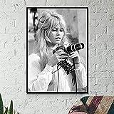 Eryan Brigitte Bardot Französisch Mode Poster