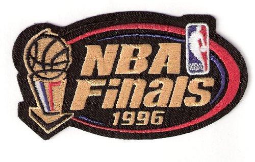 1996 NBA Finals Warm Up Jerseys Patch Chicago Bulls Seattle Super Sonics