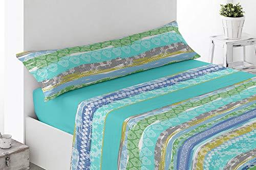 Energy Colors Textil - hogar - Seattle - Juego Sábanas Esta